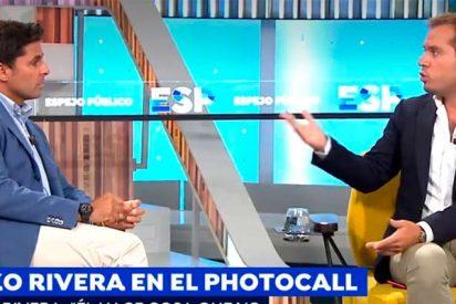 Fran Rivera le mete un zasca catedralicio a Saúl Ortíz, nuevo colaborador de corazón de 'Espejo Público'