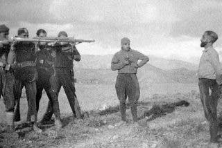 Los fusilamientos en la España de 1936