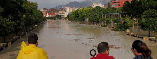 La Iglesia se vuelca con los damnificados por las fuertes lluvias e inundaciones