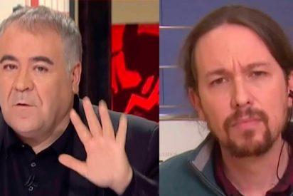 García Ferreras usa a una trampa muy cutre para abroncar a su 'colega' Pablo Iglesias