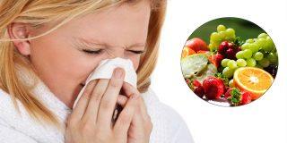 ¡Si no quieres coger un resfriado aliméntate con cuidado!