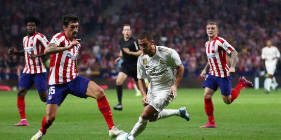 Atlético vs Real Madrid: Lucharon como leones, sudaron como camellos y corrieron como galgos, pero 0-0