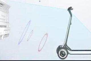 Así es el nuevo scooter con IA que vuelve solo a su estación de carga