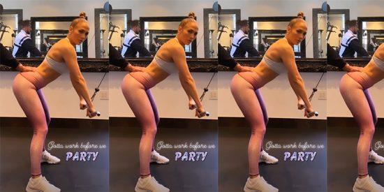 Workout: el brutal entrenamiento de Jennifer Lopez