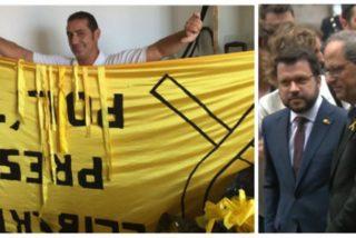 ¿Qué son los delitos de 'desórdenes públicos' de los que la Generalitat independentista pretende acusar a Juan Rivas, el hombre que hizo sonar el himno de España durante la Diada?