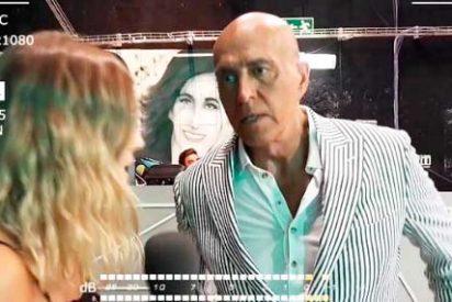 La repugnante respuesta de Kiko Matamoros a las preguntas de un reportera sobre sus mentirascon