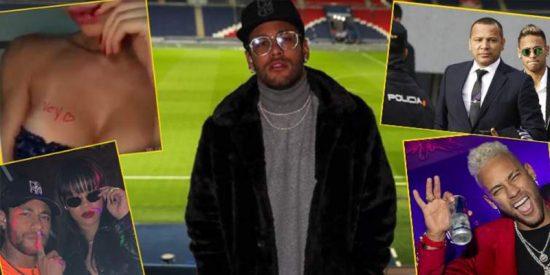 La desequilibrada vida de Neymar: de la violación que no fue a los conflictos judiciales con el Barça