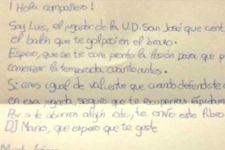 La emotiva carta de un niño futbolista a otro al que lesionó en un partido