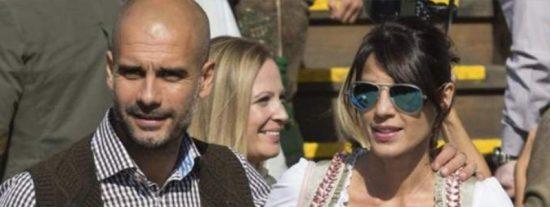 La mujer de Pep Guardiola hace las maletas y se vuelve a Barcelona dejándolo sólo