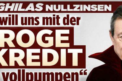 """La prensa alemana contra el BCE: """"El conde Draghila está chupando nuestras cuentas"""""""