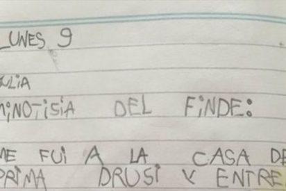 Genial: la respuesta de una niña de 6 años a este ejercicio de clase arrasa