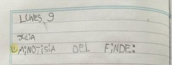 La respuesta de una niña de 6 años a este ejercicio de clase arrasa por su genial