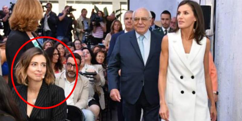 Letizia y sus mañas para evitar saludar a esta presentadora de Telecinco