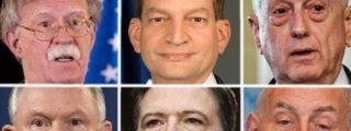 Los 6 jefes que Donald Trump se ha cargado de forma fulminante