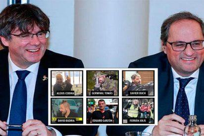 """Los CDR de las bombas eran el enlace entre Puigdemont y Torra: """"Si me pillan me van a meter terrorismo"""""""