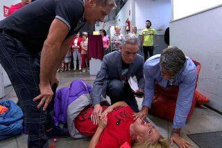 Lydia Lozano termina en el hospital tras recibir un fuerte golpe en las costillas