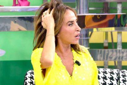 Una cámara casi deja 'tonta' a María Patiño tras golpearle en la cabeza