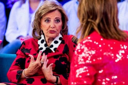 El venenoso mensaje de Maria Teresa Campos al capo Vasile desde el programa de Toñi Moreno en Telemadrid
