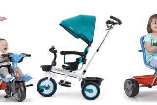 Mejores triciclos para bebés evolutivos 2021