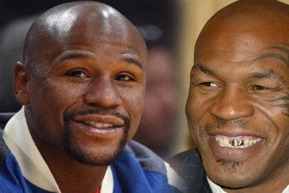 """Mike Tyson se pone 'gallito': """"En una pelea callejera le patearía el trasero a Floyd Mayweather"""""""