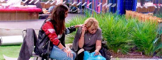 Mila Ximénez vomita en directo en 'GH VIP' al enterarse de la salvación de Hugo Castejón