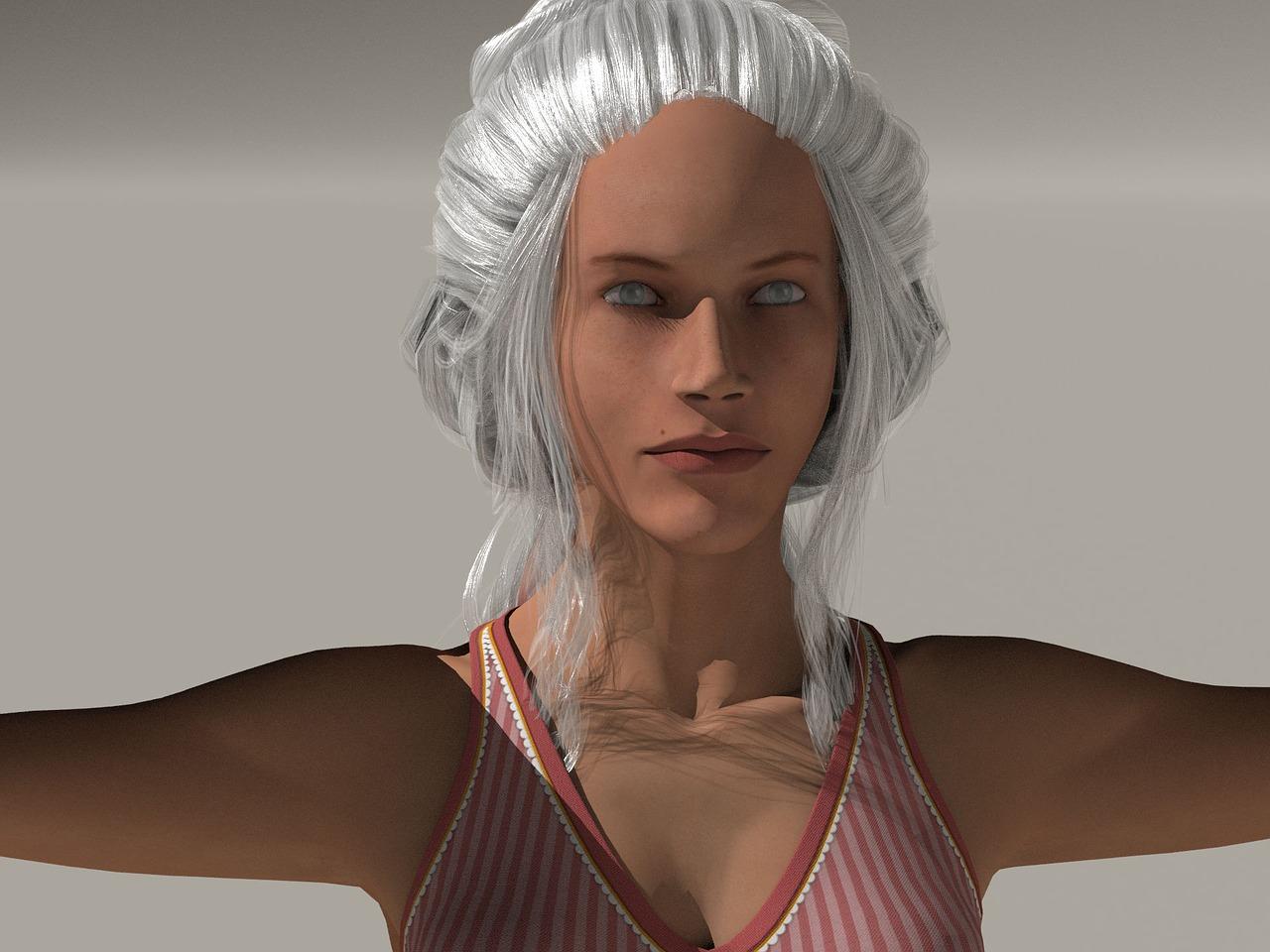 Moda: ¿Por qué cada vez más mujeres se tiñen para volver a su pelo gris?