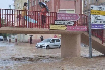 La Iglesia murciana pone a disposición de los afectados por las lluvias sus locales y medios