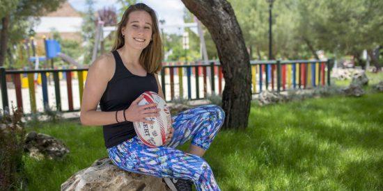 Así es Olivia, la hija campeona de rugby de la fallecida Blanca Fernández Ochoa