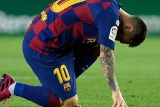 Tensión en el Barça: una posible lesión pone en peligro a Messi en el regreso de La Liga