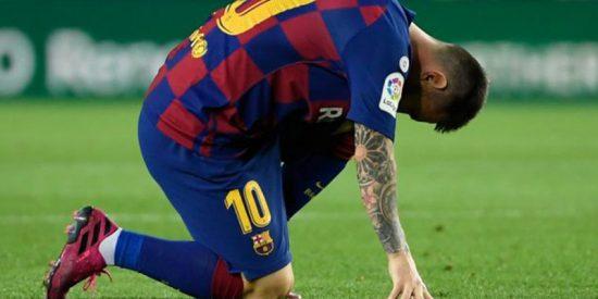 Otra vez Messi lesionado; tuvo que ser sustituido por molestias en el abductor de la pierna izquierda