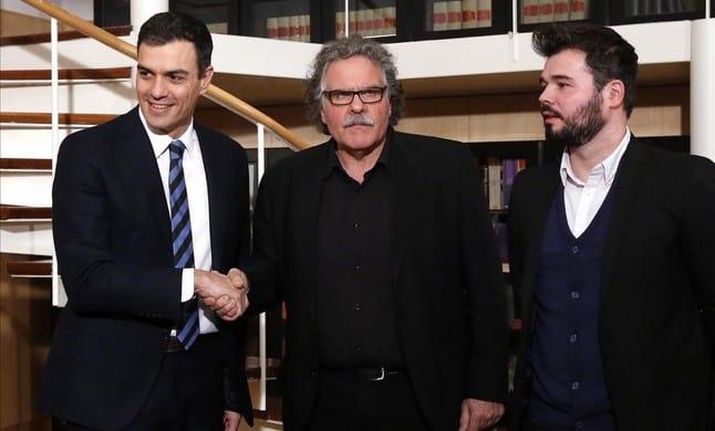El País también se unta vaselina y pide ahora a Sánchez que explique su acuerdo secreto con ERC