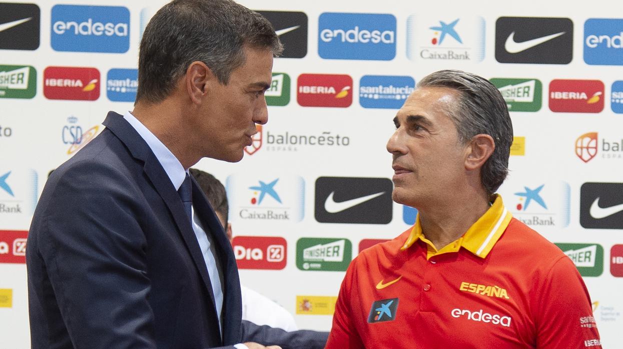 La gran rajada de 'bocachancla' Pedro Sánchez contra Scariolo y la 'boutade' de Pablo Iglesias