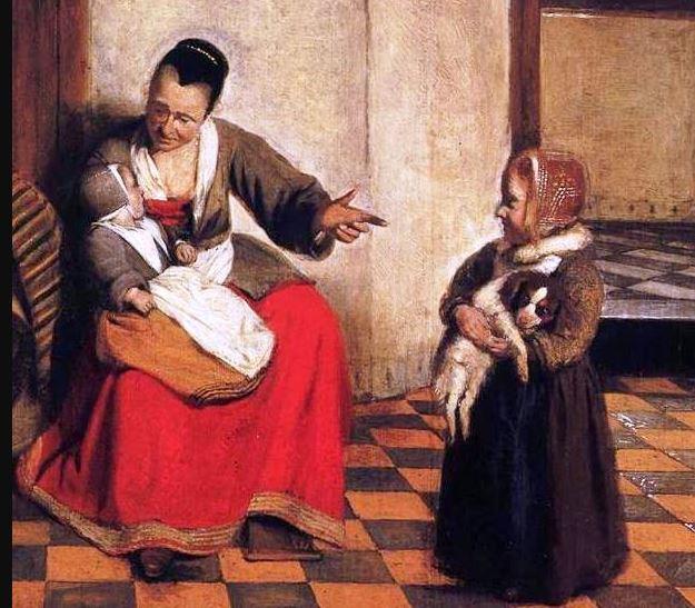 Pieter de Hooch-cuadro