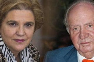 """Pilar Eyre: """"Don Juan Carlos le tocó la teta deliberadamente a Pilar Rahola como muestra de poder"""""""