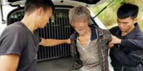 Pillan gracias a dron a un delincuente fugado durante 17 años viviendo en una cueva