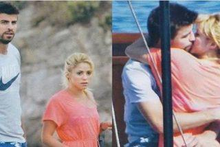 Pique sabe muy bien por dónde sujetar a Shakira para que 'no se le caiga'