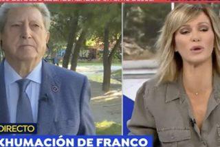 El enterrador de Franco cuenta una confidencia que le hizo la hija del dictador que no gustará nada a su familia