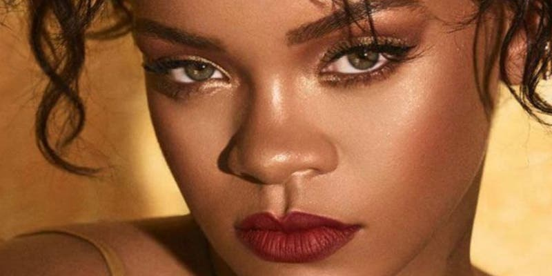 Rihanna con un 'pedal' de campeonato