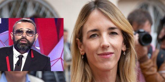 """El 'payaso' de Risto insinúa en CuatroTV que Cayetana Álvarez de Toledo """"le come la p***a"""" a Pablo Casado"""