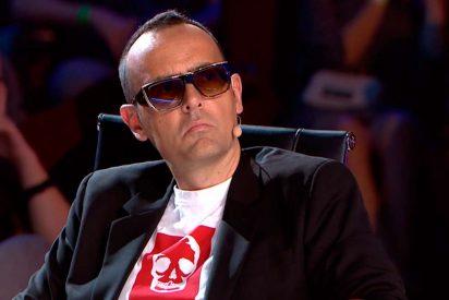 Risto Mejide huye como un 'cobarde', de la grabación de 'Got Talent', aterrorizado por la reacción de un concursante