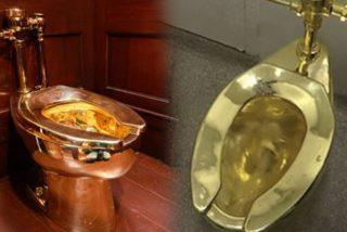 Era de esperar: Roban un inodoro de oro macizo valorado en US$5 millones del Palacio Blenheim, donde nació Winston Churchill
