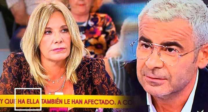 Jorge Javier Vázquez interrumpe 'Sálvame' por una barbaridad que habían escrito