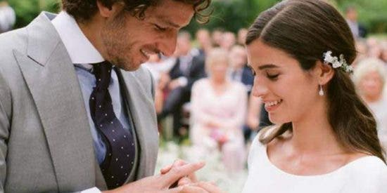 Sandra Gago y Feliciano López ya son marido y mujer: las imágenes de su boda de ensueño marbellí