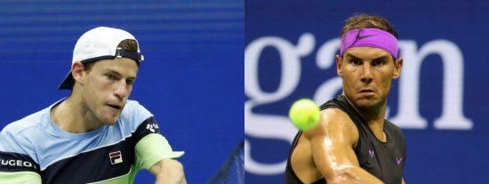 El 'maestro' Nadal vence al 'pequeño' Schwartzman y ya está en semifinales del Open USA