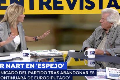Javier Nart insiste en que quedarse con su escaño es lo que Ciudadanos quiere, por mucho que Rivera se queje