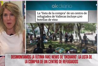 """EN DIRECTO El Quilombo / La exjefa de prensa de Sánchez defiende la 'lista de la compra' de los refugiados: """"Sí, les damos vino y chuletillas de cordero... ¿y qué?"""""""
