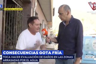"""Un vecino afectado por la gota fría deja en bragas a la izquierda: """"Ganan 15.000 euros al mes y aquí no ha venido nadie"""""""