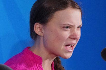 """Se viraliza esta versión 'heavy metal' del discurso de Thunberg sobre la """"extinción masiva"""" y ella queda encantada"""