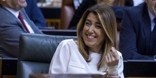 """Susana Díaz """"aplaude"""" la formación del gobierno """"Sánchezstein"""""""