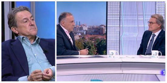 """Hermann Tertsch carga con toda la munición contra la grotesca entrevista del """"comisario"""" Fortes en TVE a Artur Mas"""